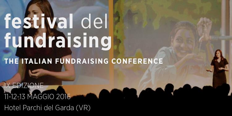 Festival del Fundraising 2016…da seguire anche in streaming!