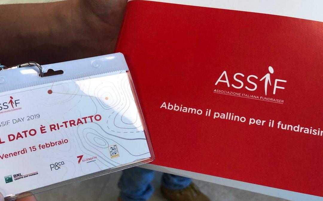Terzofilo all'ASSIF Day 2019 – Il dato è ri-tratto