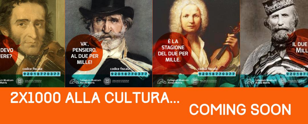 Torna il 2×1000 alla cultura